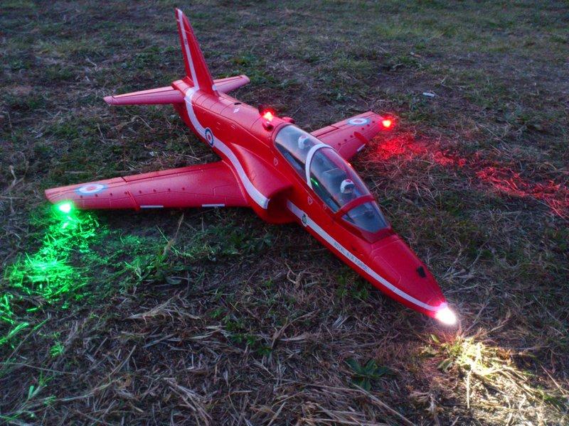 Rc Flugzeug Beleuchtung Selber Bauen | Led Sets Fur Flugzeuge Www Ledprofishop De