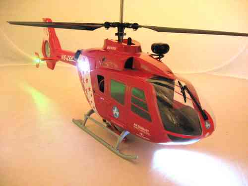 Heli EC-135 LED Set, Scale, 3 mm LEDs Superhell