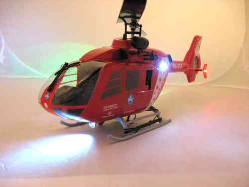 Heli EC-135 LED Set, Scale, 5 mm LEDs Superhell
