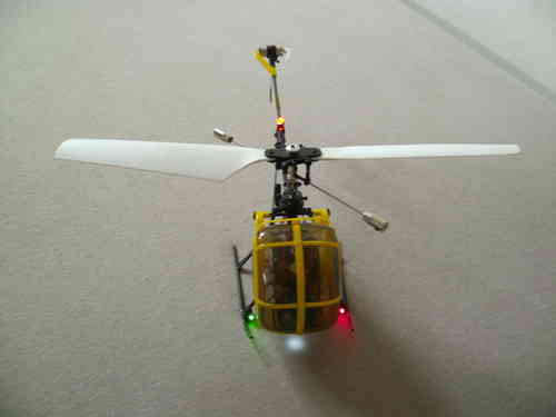 Attractive Beleuchtung Für Super Micro Heli Bis 20 Cm Rumpflänge, Landescheinw.,  Positionslichter,