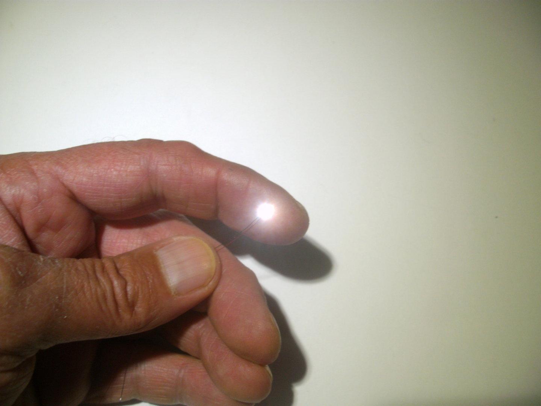 LED SMD 0402 0,4x0,8mm mit CU Draht fertig verlötet verschieden ...